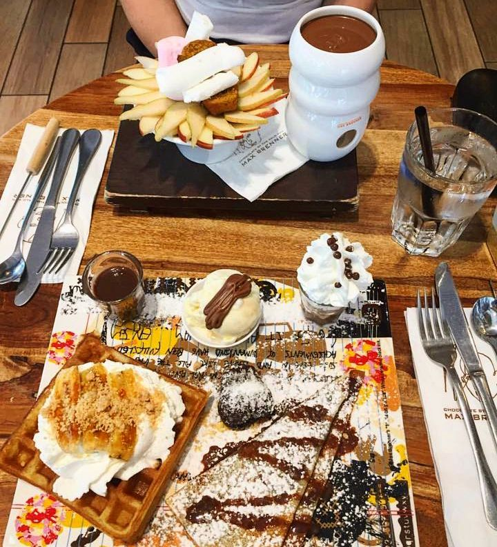 Max Brenner Food Review